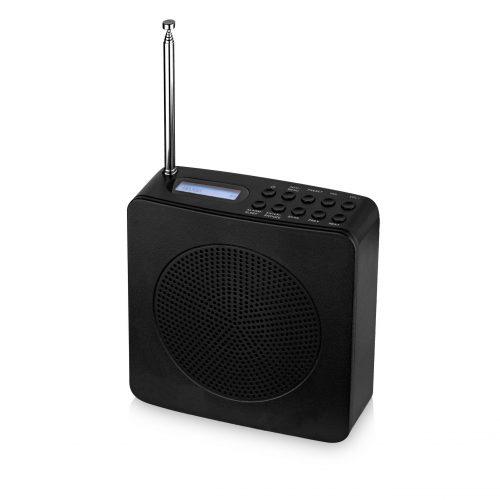 Radio despertador batería recargable
