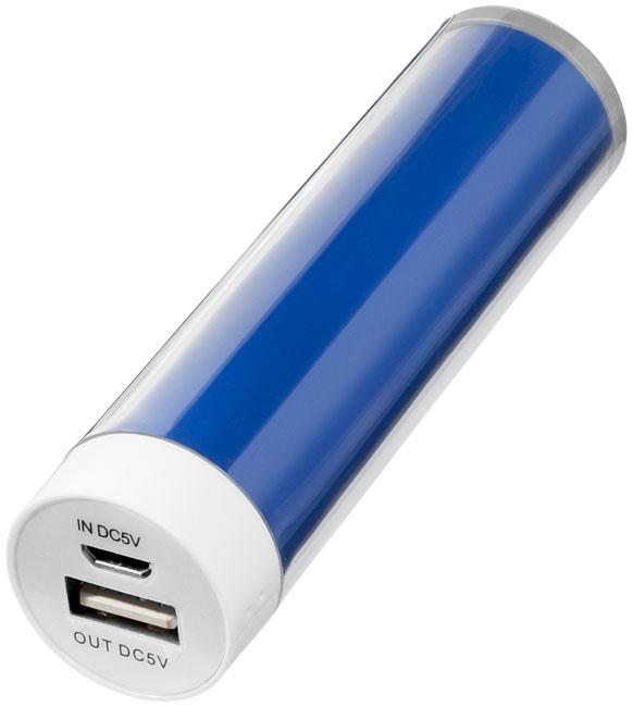 Bateria externa en forma de cilindro de 2200mAh