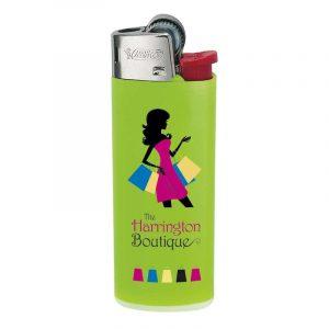 encendedor bic mini verde j25