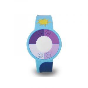 Pulsera con medidor de radión UV