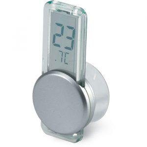 Mini termómetro LCD con ventosa