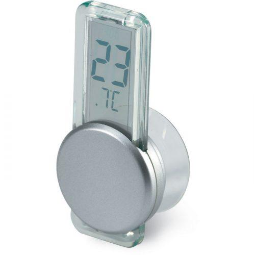 Mini Termómetro Ventosa LCD