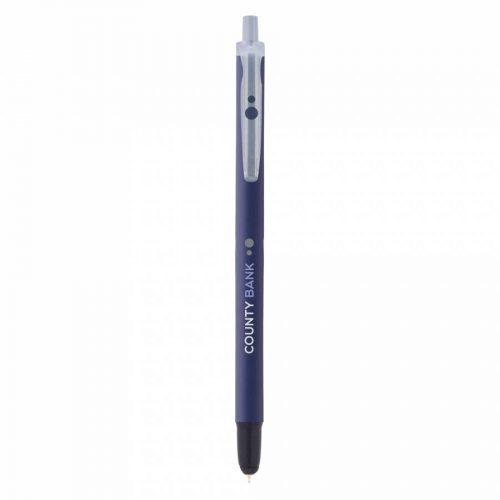 boligrafo bic clic stylus blue