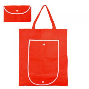 bolsa de tela plegable de la compra