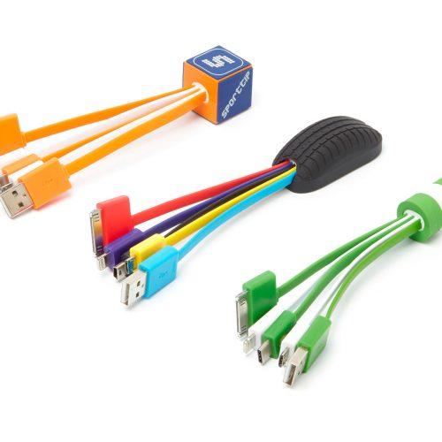 cables usb 3D