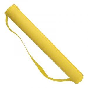 esterilla de playa amarilla