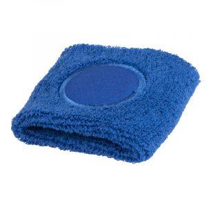 muñequera deportiva azul