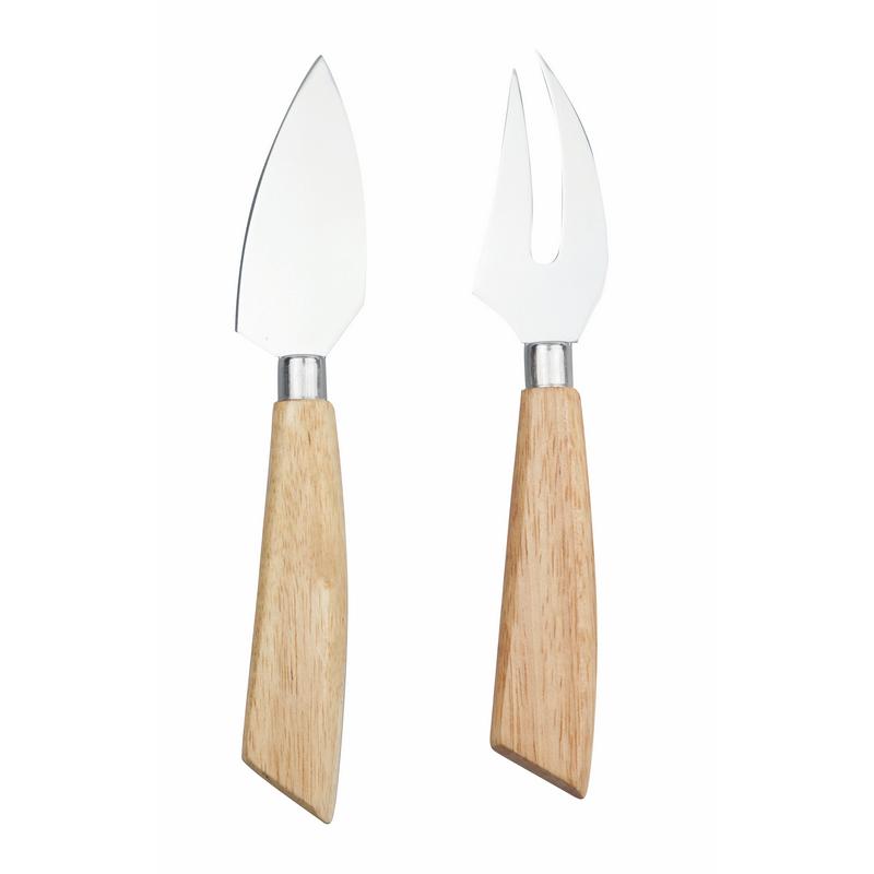 Set de cuchillo y tenedor para queso
