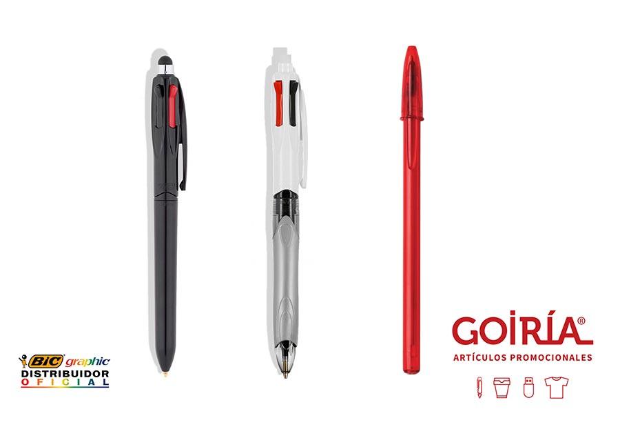 Bolígrafos BIC personalizados. Regalos de empresa.