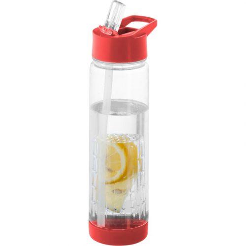 """Botella de Tritan™ de 740 ml con infusor """"Tutti-frutti"""""""