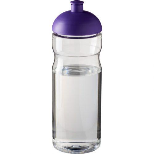 H2O Base® Bidón deportivo con Tapa Dome de 650 ml (Modelo transparente)