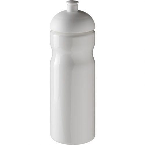 H2O Base® Bidón deportivo con Tapa Dome de 650 ml (Modelo blanco)