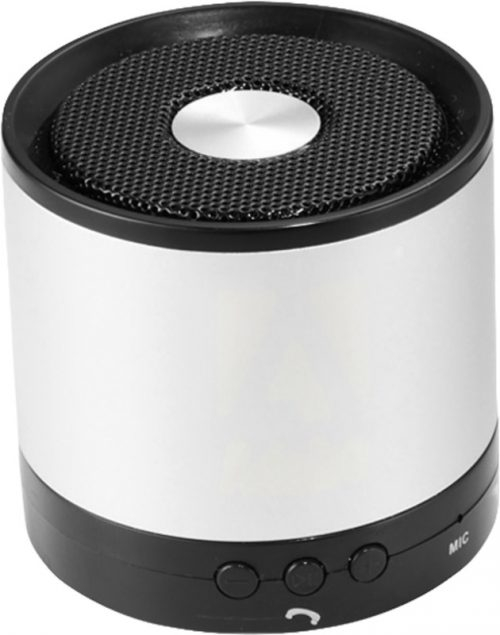 "Altavoz Bluetooth® de aluminio ""Greedo"" blanco"