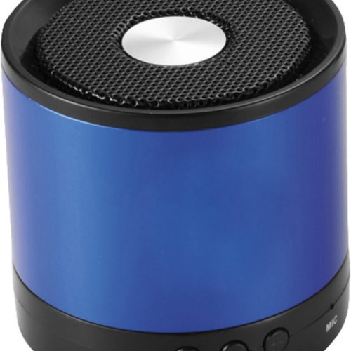 "Altavoz Bluetooth® de aluminio ""Greedo"" azul"