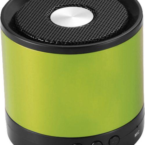 "Altavoz Bluetooth® de aluminio ""Greedo"" verde"