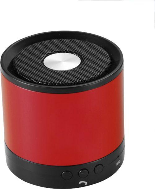 "Altavoz Bluetooth® de aluminio ""Greedo"" rojo"