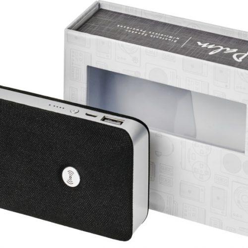 "Altavoz Bluetooth® con batería externa inalámbrica ""Palm"""