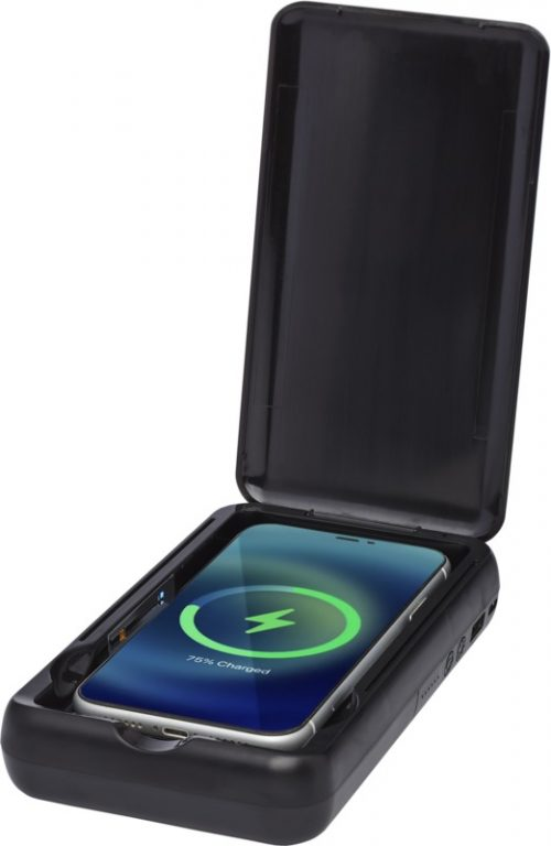 """Desinfectante UV para smartphone con batería externa inalámbrica de 10 000 mAh """"Nucleus"""""""