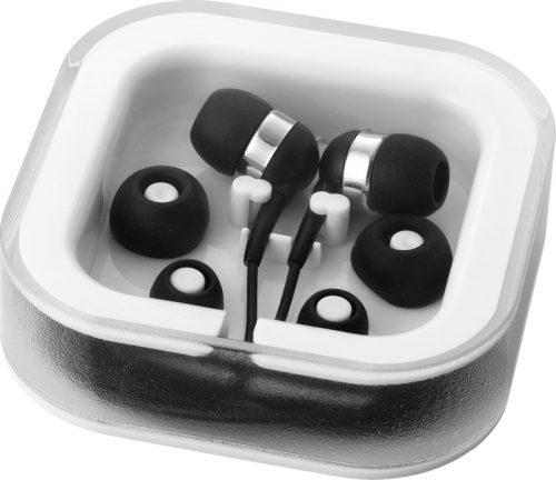 """Auriculares internos con micrófono """"Sargas"""" negro"""