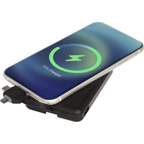 """Batería externa inalámbrica de 5000 mAh con cable 3 en 1 """"Kano"""""""