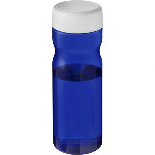 H2O Eco Base Bidón deportivo con tapa de rosca de 650 ml (modelo azul)