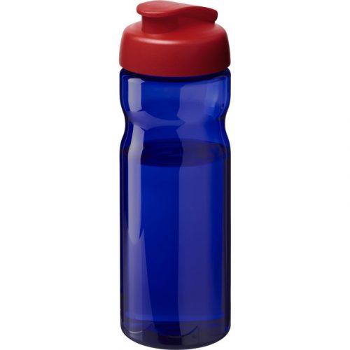 H2O Eco Bidón deportivo con tapa Flip de 650 ml (modelo azul)