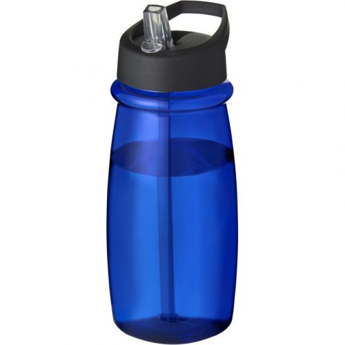 H2O Pulse Bidón deportivo con tapa con boquilla de 600 ml (modelo color)
