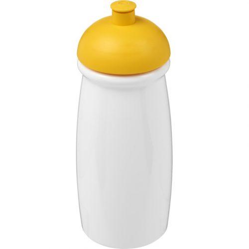 H2O Pulse® Bidón deportivo con Tapa Dome de 600 ml (modelo blanco)