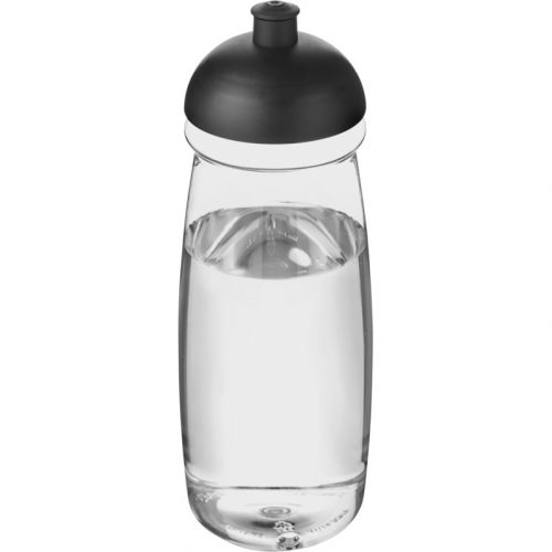 H2O Pulse® Bidón deportivo con Tapa Dome de 600 ml (modelo transparente)