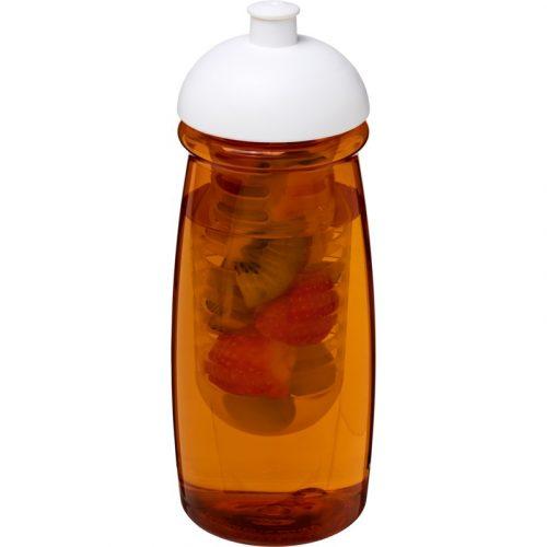H2O Pulse® Bidón deportivo e infusor con Tapa Dome de 600 ml (modelo color)