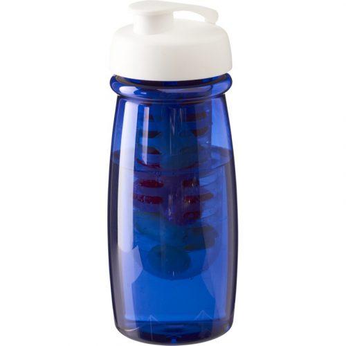 H2O Pulse® Bidón deportivo e infusor con Tapa Flip de 600 ml (modelo color)