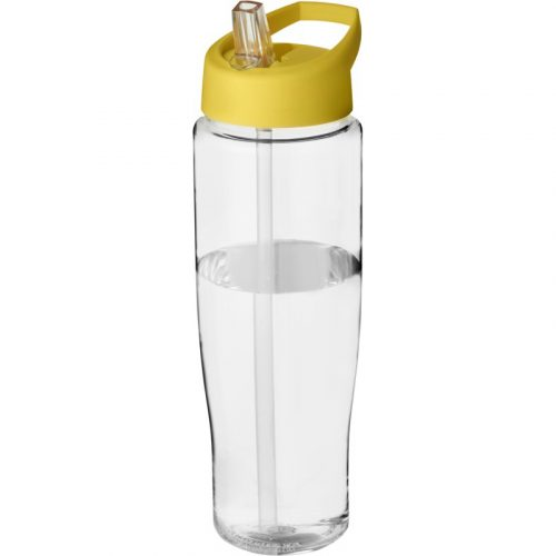 H2O Tempo® Bidón deportivo con tapa con boquilla de 700 ml (modelo transparente)