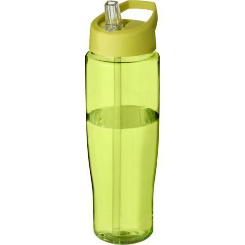 H2O Tempo® Bidón deportivo con tapa con boquilla de 700 ml (tapa color)