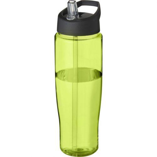 H2O Tempo® Bidón deportivo con tapa con boquilla de 700 ml (tapa negra)
