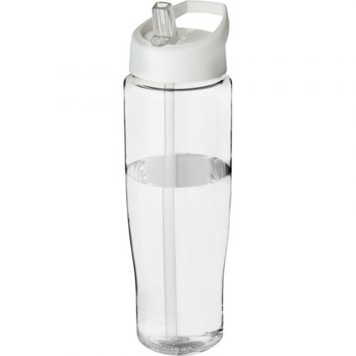H2O Tempo® Bidón deportivo con tapa con boquilla de 700 ml (tapa blanca)