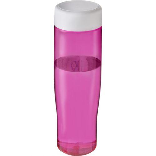 H2O Tempo Bidón deportivo con tapa de rosca de 700 ml (modelo color)