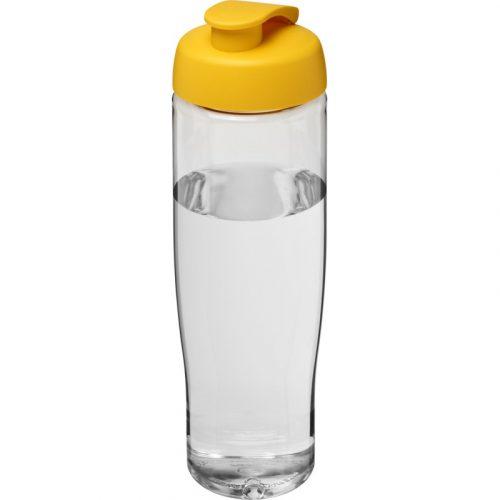H2O Tempo® Bidón deportivo con Tapa Flip de 700 ml (modelo transparente)