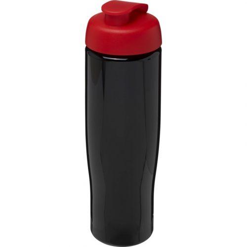 H2O Tempo® Bidón deportivo con Tapa Flip de 700 ml (modelo negro)
