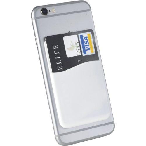 """Portatarjetas de silicona para smartphones """"Slim"""""""