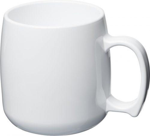 Taza de plástico clásica de 300 ml