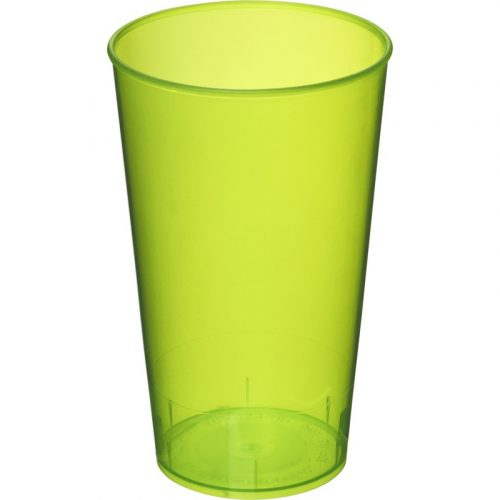 Vaso de plástico de 375 ml Arena (modelo color opaco)