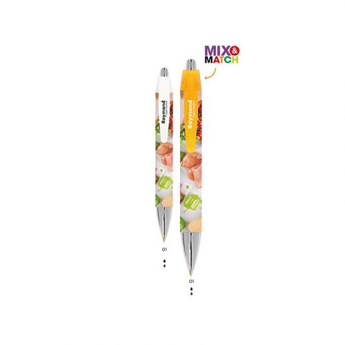 BIC Wide Body Mini Digital Chrome bolígrafo - 3460001896