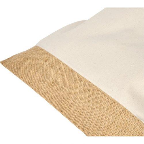"Bolsa Tote de yute de algodón ""Delhi"""