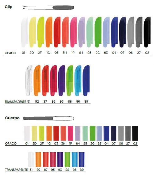 BIC® Super Clip bolígrafo - 3460001039