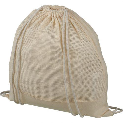 """Mochila de cuerdas de algodón de malla """"Maine"""""""