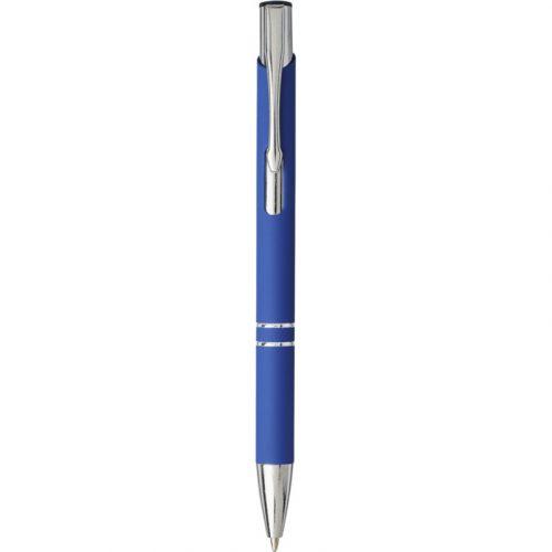 """Bolígrafo con empuñadura de tacto suave """"Moneta"""""""