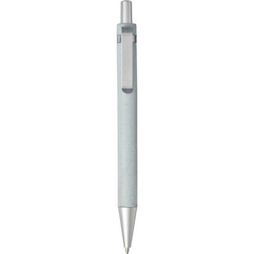 """Bolígrafo de paja de trigo con mecanismo de presión """"Tidore"""""""