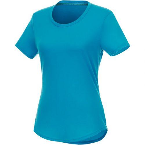 "Camiseta de manga corta de material reciclado GRS para mujer ""Jade"""