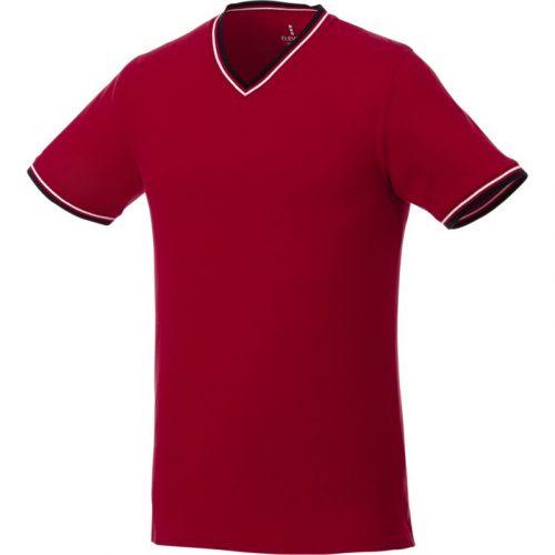 """Camiseta de pico punto piqué para hombre """"Elbert"""""""
