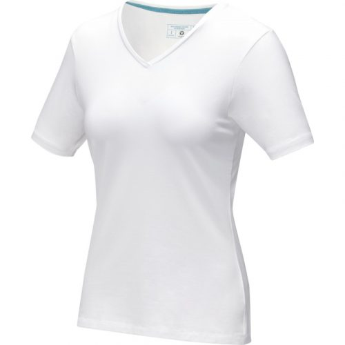 "Camiseta orgánica de manga corta para mujer ""Kawartha"""